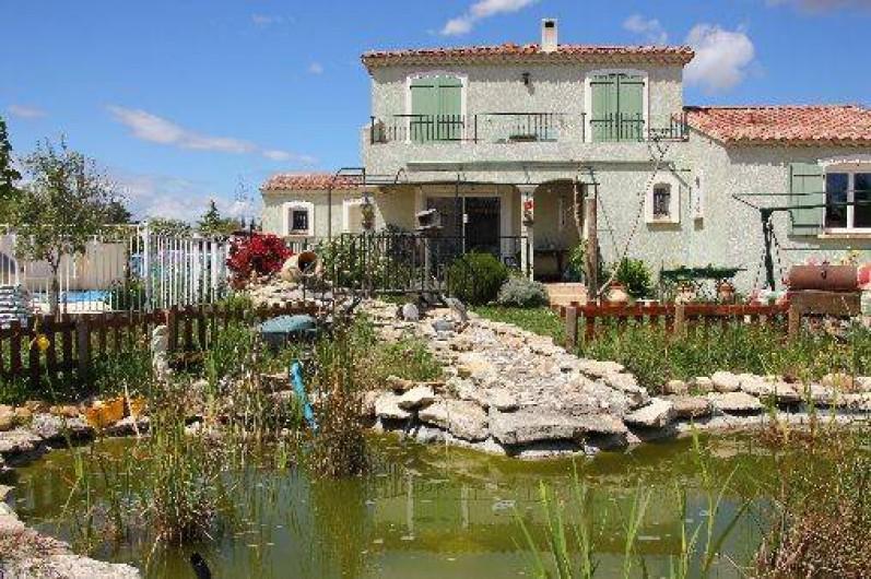 Location de vacances - Villa à Vedène