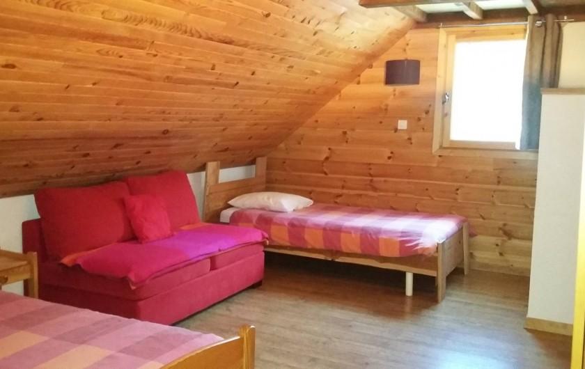 Location de vacances - Chalet à La Joue du Loup - chambre parentale