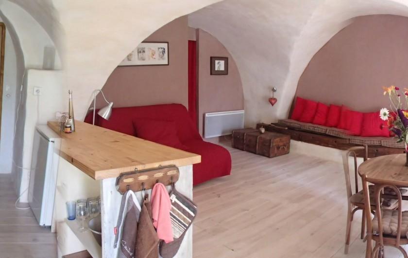 Location de vacances - Gîte à Chorges - vue d'entrée dans les lieux.