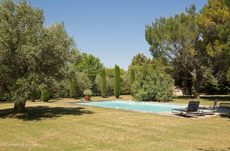 Location de vacances - Mas à Gordes - La piscine
