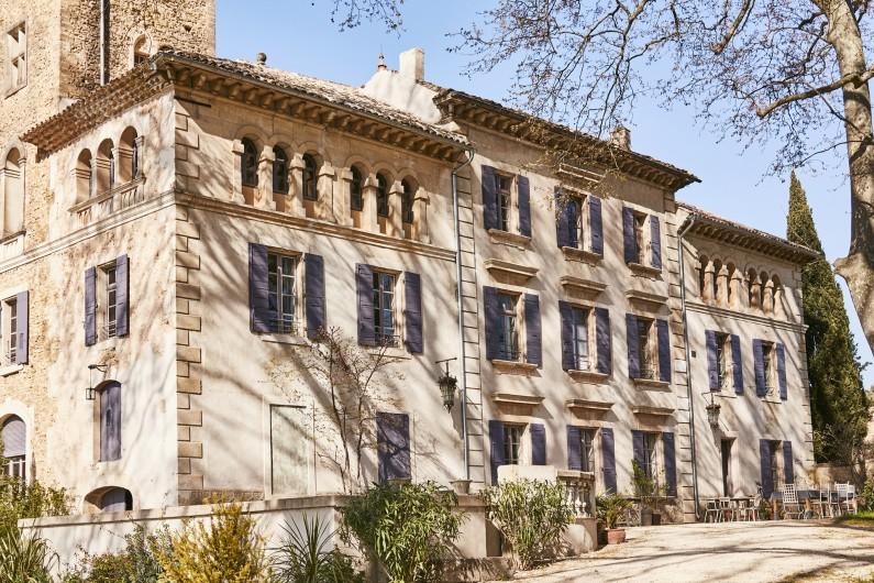 Location de vacances - Mas à Uchaux - La bastide