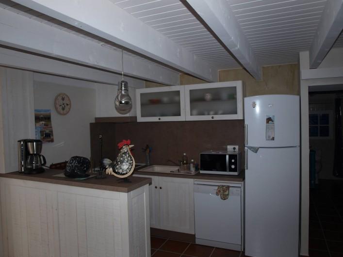 Location de vacances - Appartement à Brem-sur-Mer - Espace cuisine