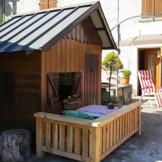 Location de vacances - Gîte à Saint-Marcel - Cabane des enfants