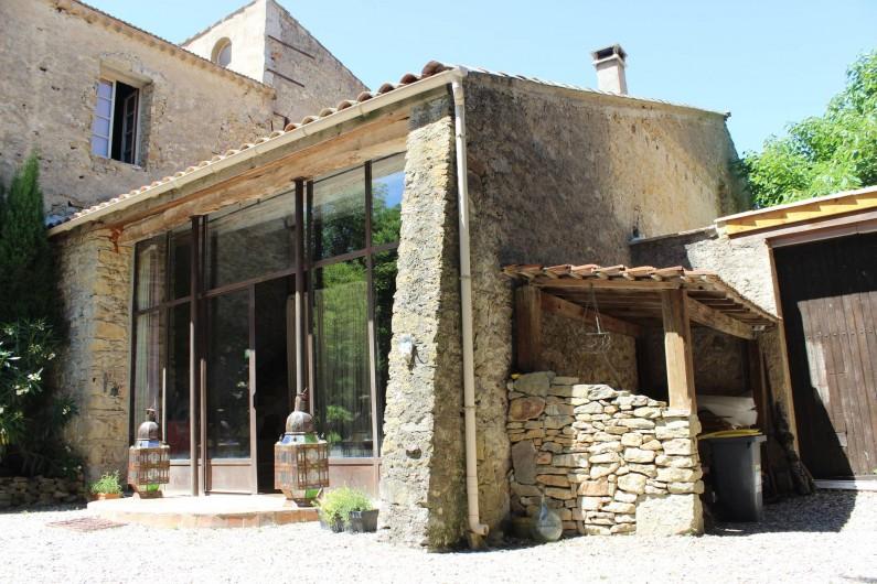 Location de vacances - Villa à Carcassonne - Façade domaine