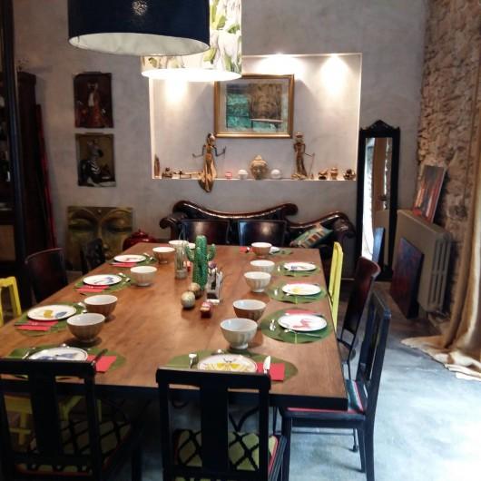 Location de vacances - Villa à Carcassonne - salle petits déjeuners