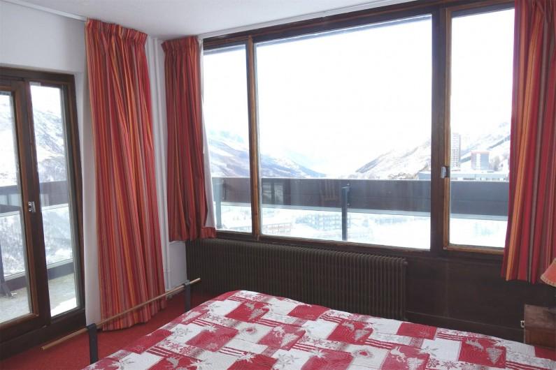 Location de vacances - Appartement à Les Menuires - Chambre parentale lit double