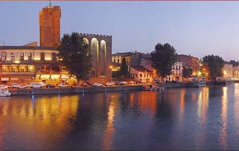 Location de vacances - Appartement à Agde - La cité d'Agde