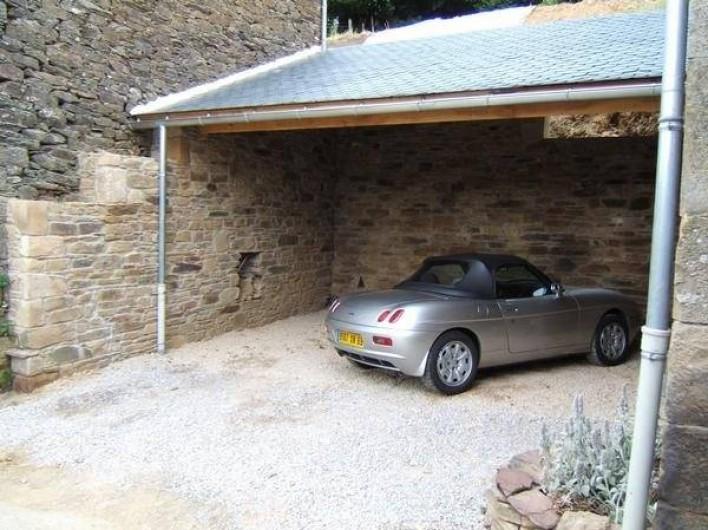 Location de vacances - Gîte à Coupiac - garage