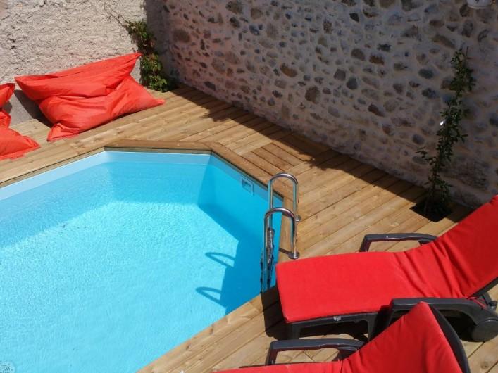 Location de vacances - Maison - Villa à Pouzolles - piscine