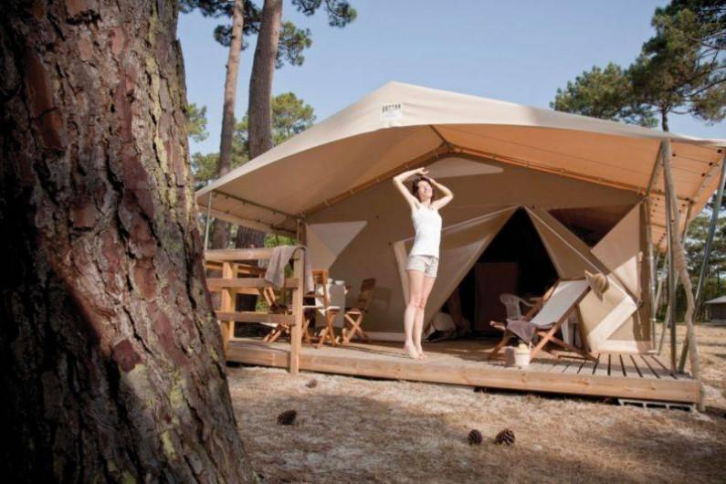 Location de vacances - Chalet à Joyeuse - Lodge Canada 5 pers.