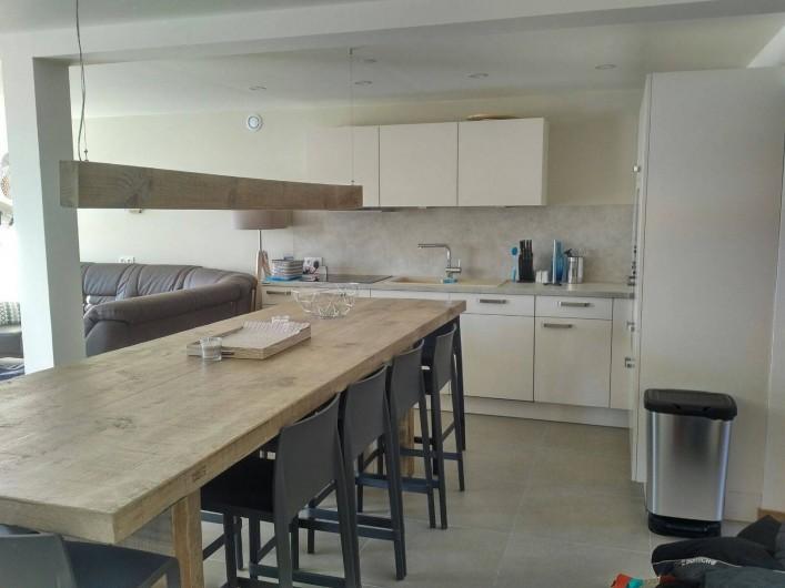 Location de vacances - Appartement à Les Deux Alpes - Partie cuisine