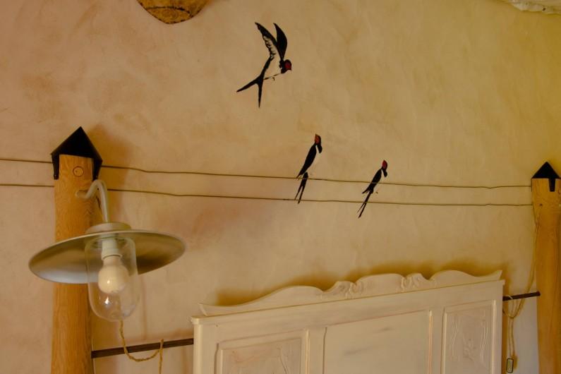 Location de vacances - Chambre d'hôtes à Gigny - Chambre Hirondelles