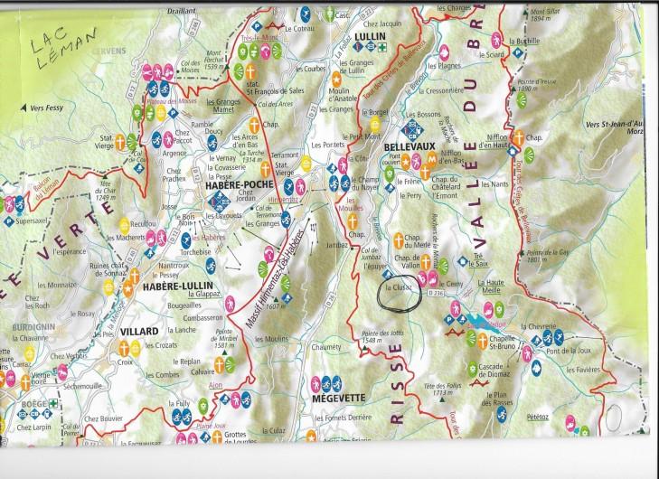 Location de vacances - Chalet à Bellevaux - Bellevaux  dans Alpes du Léman