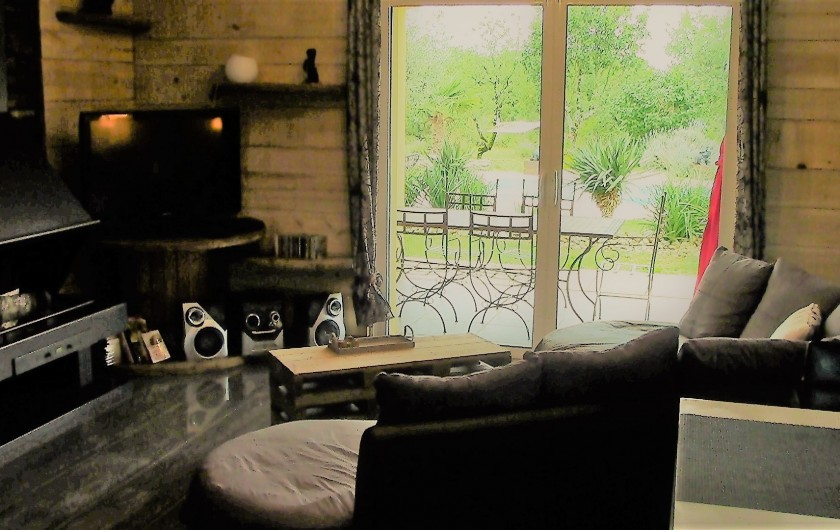 Location de vacances - Villa à Lalbenque - LOTus, salon