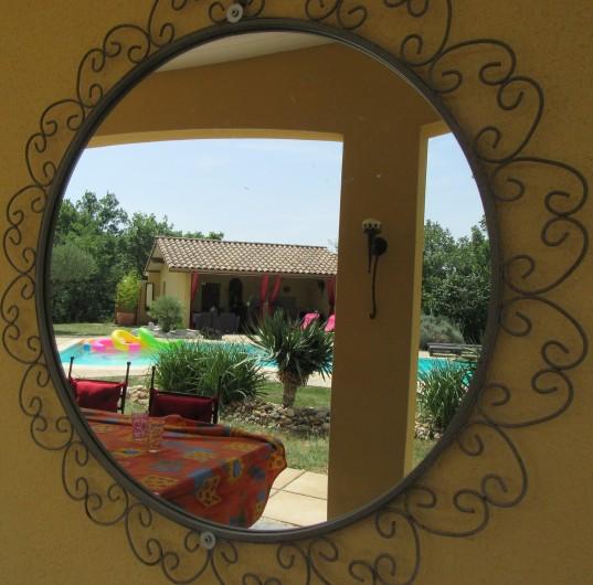 Location de vacances - Villa à Lalbenque - Terrasse LOTus