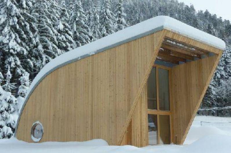 Location de vacances - Chalet à Xonrupt-Longemer - Eco-Lodge en hiver