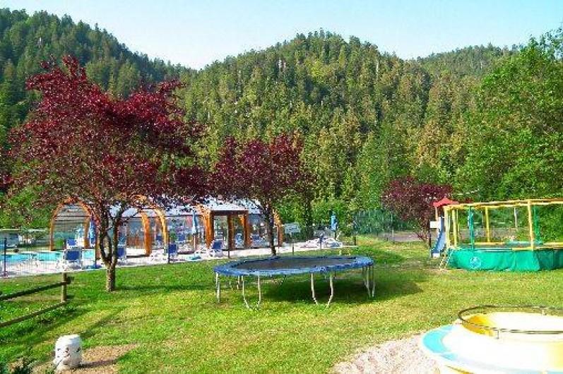 Location de vacances - Chalet à Xonrupt-Longemer - Aire de jeux