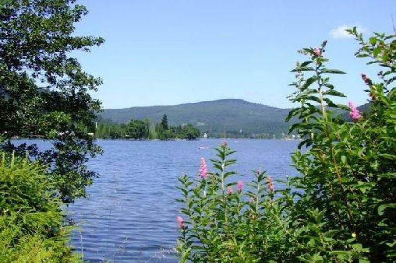Location de vacances - Chalet à Xonrupt-Longemer - Lac de Longemer à 300 m du camping