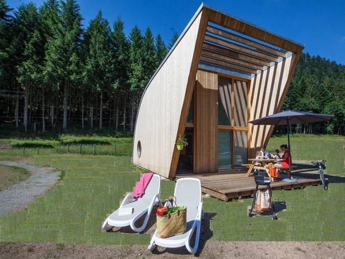 Location de vacances - Chalet à Xonrupt-Longemer - Eco-Lodge  pour 2 à 6 personnes