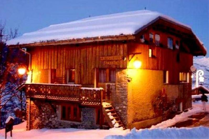 Location de vacances - Chalet à Mâcot-la-Plagne - Chalet la Vieille Maison
