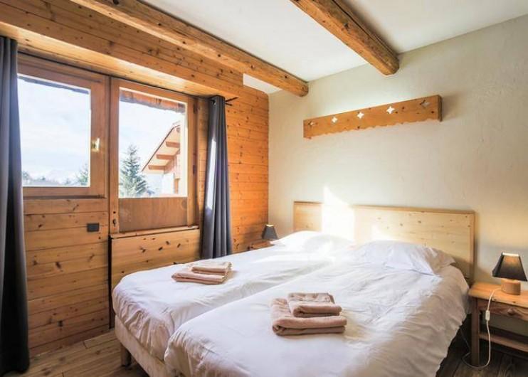 Location de vacances - Chalet à Mâcot-la-Plagne - Chambre 2 personnes