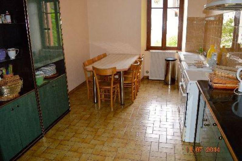Location de vacances - Appartement à Pontgibaud - cuisine principale