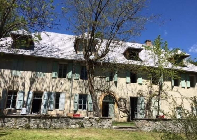 Location de vacances - Maison - Villa à Embrun - Vue depuis le jardin