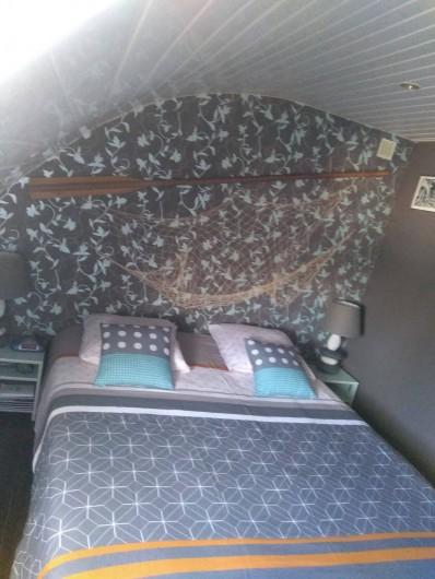 Location de vacances - Gîte à Fécamp - Chambre du Capitaine