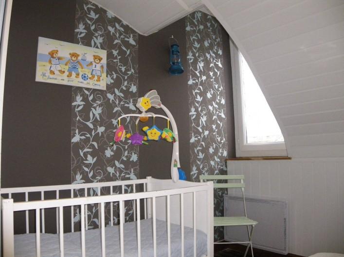 Location de vacances - Gîte à Fécamp - Lit bébé