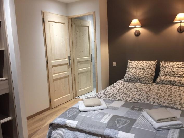 Location de vacances - Appartement à Sainte-Foy-Tarentaise - Chambre N° 3