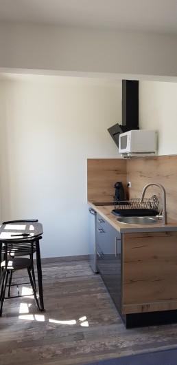 Location de vacances - Appartement à Saint-Montan - Pastourelle - Kitchenette