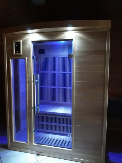 Location de vacances - Chalet à Anould - sauna infrarouge  3 personnes
