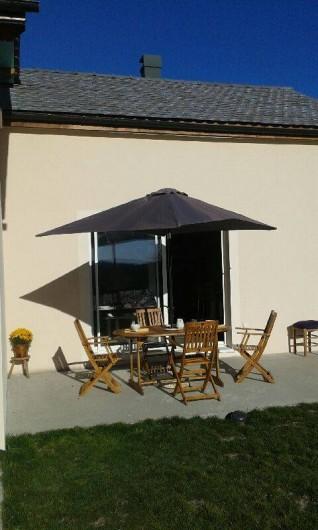 Location de vacances - Chalet à Villesoule - terrasse