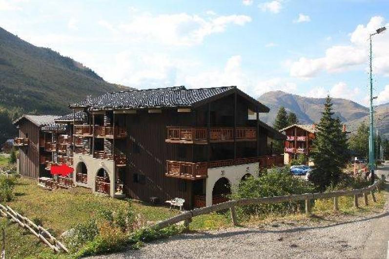 Location de vacances - Studio à Les Deux Alpes - Vénéon B Balcon plein SUD