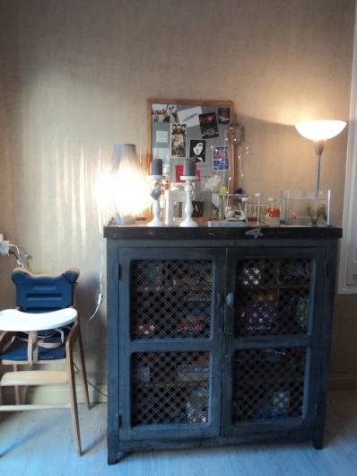 Location de vacances - Maison - Villa à Saint-Laurent-de-la-Salanque - Chaise haute et jeux de société