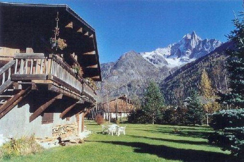 Location de vacances - Chalet à Chamonix-Mont-Blanc