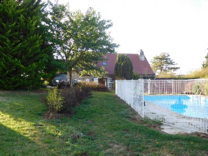 Location de vacances - Gîte à Puydoyeux - Le Jardin