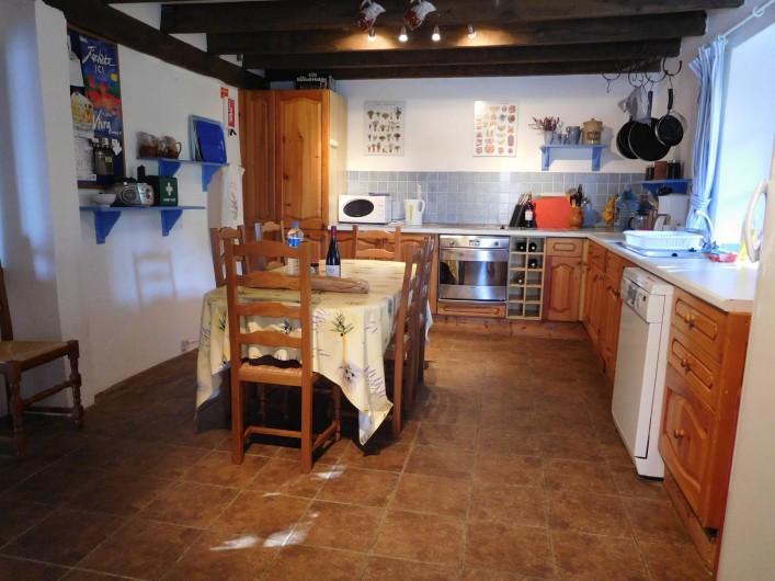 Location de vacances - Gîte à Puydoyeux - La cuisine