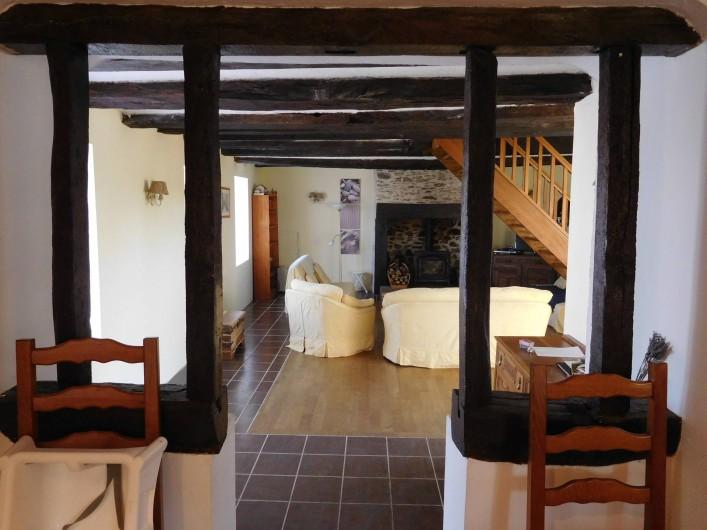 Location de vacances - Gîte à Puydoyeux - Salon