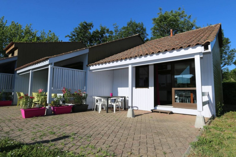 Location de vacances - Gîte à Grospierres - Les terrasses