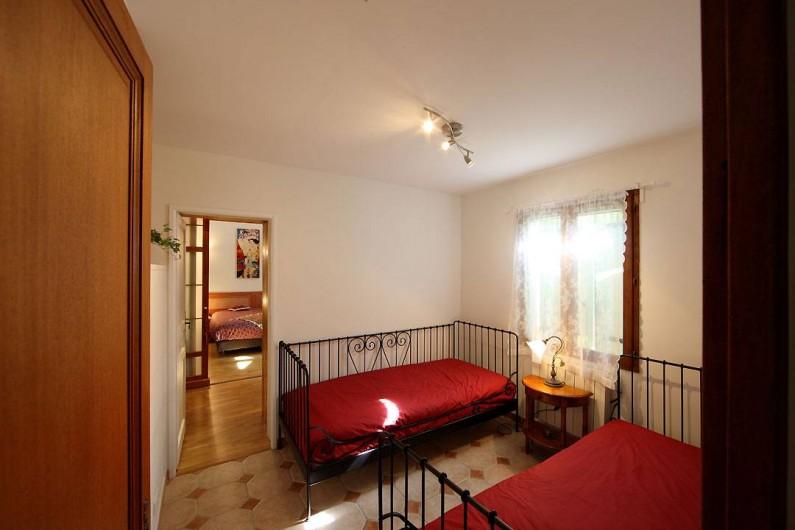 Location de vacances - Villa à Avignon - Chambre 4 - 2 lits jumeaux