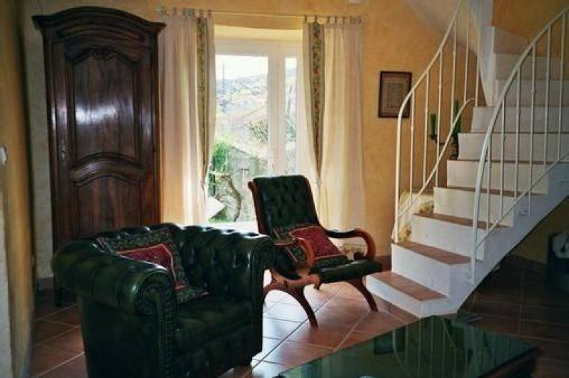 Location de vacances - Mas à Saint-Paul-le-Jeune - salon