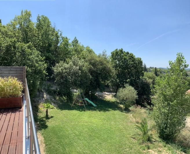 Location de vacances - Villa à Barjac - Le jardin