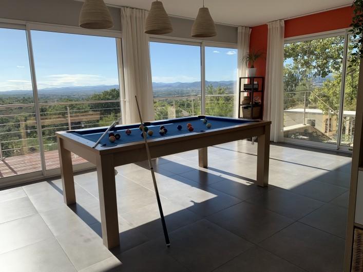 Location de vacances - Villa à Barjac - Billard