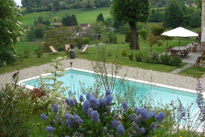 Location de vacances - Chambre d'hôtes à Sarlat-la-Canéda - Piscine