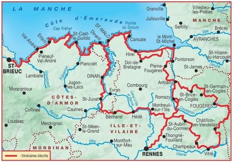 Location de vacances - Studio à Saint-Malo - ce qu'il faut voire dans la région de Saint-Malo