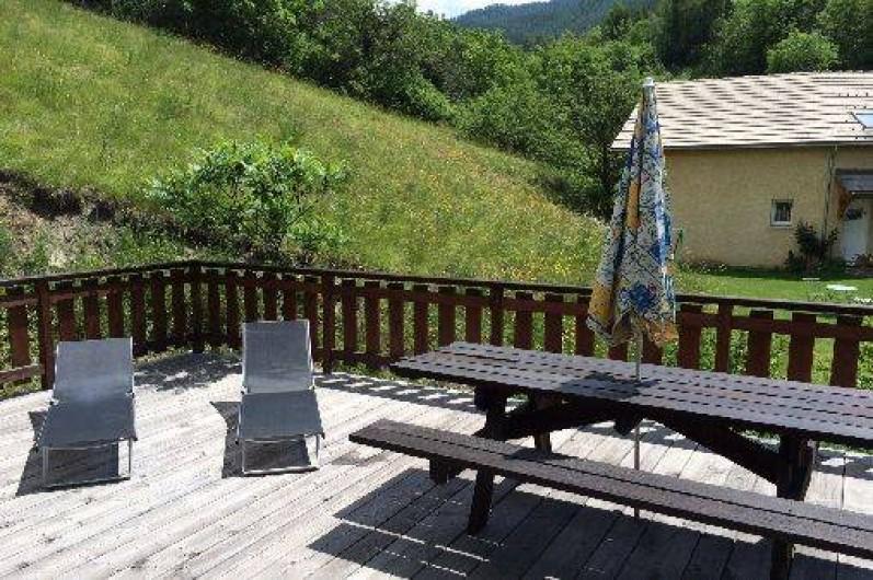 Location de vacances - Chalet à Risoul