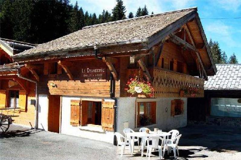 Location de vacances - Chalet à Montriond
