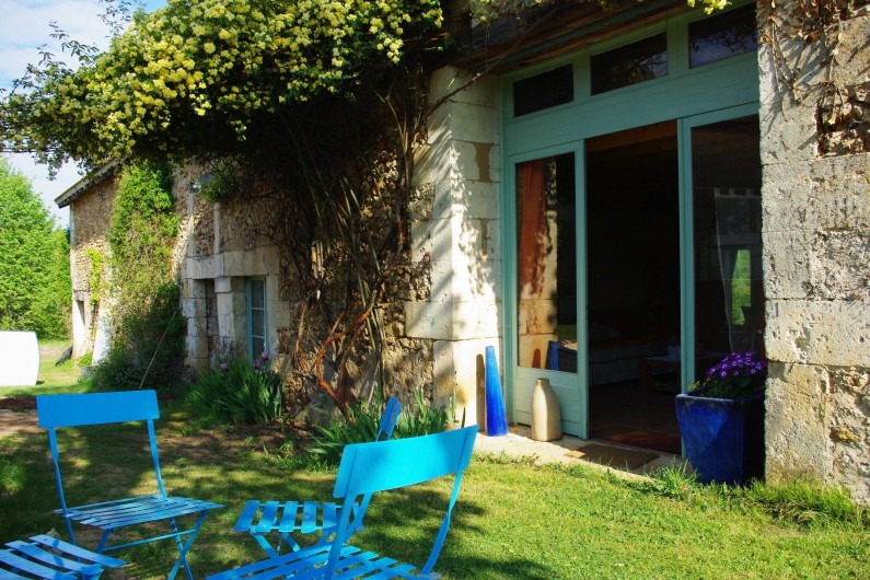 Location de vacances - Gîte à Bourrou - Entrée Gite theleme