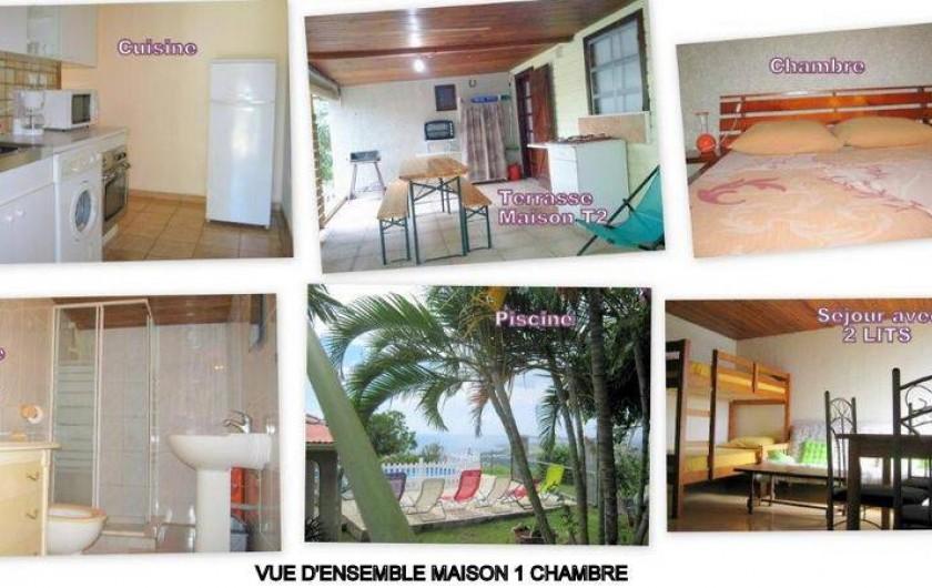 Location de vacances - Gîte à Saint-Paul - ensemble maison T2